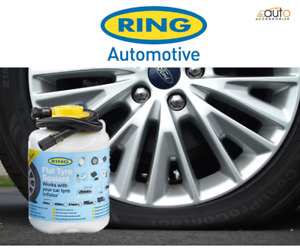 Ring Universal Compressor Flat Tyre Sealant Portable Punctures Repair Refill Kit