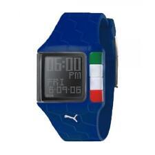 Orologio Uomo PUMA ITALIA PU90003E0199.H21 Silicone Blu Digitale Chrono Timer