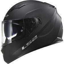 LS2 Helmets Stream Solid Full Face Motorcycle Helmet Matte Black LG Large