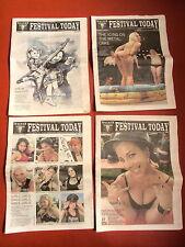 W:O:A 2011 WACKEN OPEN AIR ZEITSCHRIFTEN Festival Today alle 4 KOMPLETT