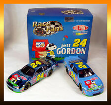 Brookfield JEFF GORDON #24 PEANUTS Snoopy DuPont 1:24 Monte Carlo Twin Pack NEW