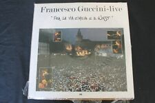LP 33 GIRI FRANCESCO GUCCINI LIVE FRA LA VIA EMILIA E IL WEST **NUOVO SEALED**