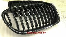MIT CARBON LOOK FRONT KIDNEY GRILLE BMW F10 5 SERIES 2010-NOW