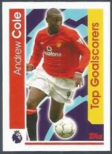 TOPPS 2017 PREMIER LEAGUE- #170-MANCHESTER UNITED-ANDREW COLE-TOP GOALSCORERS