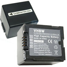 Batteria 1100mAh (7.2V) adatta per videocamera PANASONIC CGA-DU14 vhbw compatibi