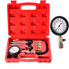 For Automotive Petrol Gas Engine Auto Tool Cylinder Compression Tester Gauge Kit