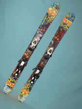 Nordica Ace of Spades jr kid's twin tip skis 108cm w/ Salomon TZ5 DEMO bindings~