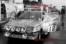 Jimmy McRae Vauxhall Chevette 2300 HSR RAC Rally 1980 Photograph 2