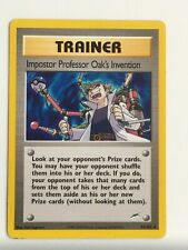 ↓ Pokémon Neo Destiny Non Holo Imposter Professor Oak's Invention 94/105
