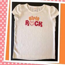 "NWOT Girl 6 Gymboree ""POPSTAR ACADEMY"" Cotton S/S TOP SHIRT ""Girls Rock"" . RARE!"