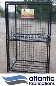 12 x Propane 19kg Gas cylinder storage cage - 1800h x 1100w x 900d