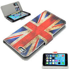 Union Jack Flip Book Wallet Case PU Leather Skin Cover For Apple iPhone 6 4.7''