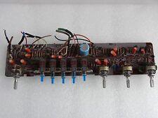 Fisher RS-1020 Platine Klangregelung mit Schaltergruppe und Potentiometern