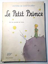 LE PETIT PRINCE. Antoine de Saint-Exupéry - 1960. Librairie Gallimard