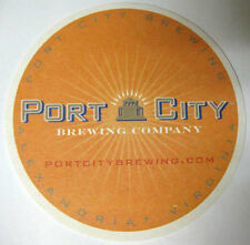 PORT CITY BREWING COMPANY Beer COASTER, Mat, Alexandria, VIRGINIA 2014