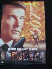 ROGER MOORE movie poster JAMES BOND 007  COLLECTION original video store promo