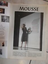 MOUSSE-CONTEMPORARY ART MAGAZINE-ISSUE 22-FEBRUARY MARCH 2010-IN INGLESE