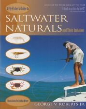 ROBERTS FLYFISHING & TYING BOOK GUIDE TO SALTWATER NATURALS IMITATIONS paperback