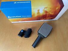 SENNHEISER e606 - Dynamisches Instrumentenmikrofon mit Klemme