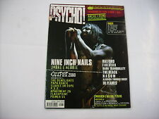 PSYCHO - #40 EXCELLENTI CONDITION - NINE INCH NAILS - IN FLAMES - NASUM - NO CD