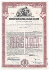 New York Central Railroad Company Bond Certificate