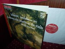 SCHUBERT: Symphonies n°5 & 6   ASMF Marriner / Philps stereo digital Holland LP