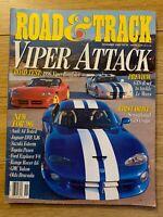 Road & Track Magazine November 1995 - Viper Attack