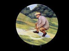 "Vntg. Decorative St. Martin Email de Limoges Golf Plate 7.5"" Ex. Condition"