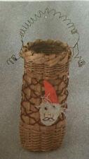Basket Weaving Pattern Santa's Helper Ornament Basket