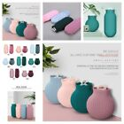 Silicone Hot Water Bottle Portable Hot Compress For Household Warmer Supplies