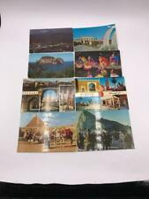 Vintage Lot of 8 Souvenir Postcards International Granada Tiznit etc
