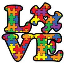 Autism Awareness Puzzle Piece Car Vinyl Decal Sticker Premium Quality Window Rv