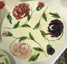 "Vintage Blue Ridge Southern Pottery Karen 10 1/4"" Dinner Plate-RARE PATTERN"