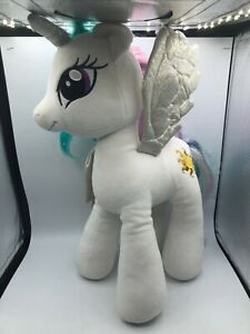 Build A Bear BAB My Little Pony MLP Celestia White Unicorn Plush Stuffed Toy