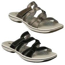 Clarks Standard Width (D) Synthetic Sandals for Women