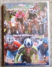 2005 Liege-Bastogne-Liege Fleche-Wallone World Cycling Productions 2 Dvd New