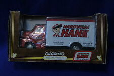 1953 Ford Delivery Van DieCast Metal  Bank Red/white ERTL COLLECTIBLES 1:30 C