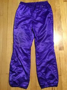 OBERMEYER Gore Tex ski pants Ladies size 10 purple Sport blizzard Goretex Womens