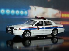 U.S. COAST GUARD PORT SECURITY POLICE CAR 1/64 SCALE COLLECTIBLE DIECAST MODEL