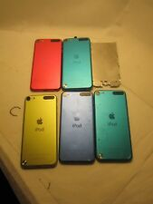 LOT of 5 Apple iPod Touch 5th & 6th Generation for Parts & Repair A1421 A1574