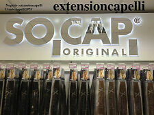 HAIR EXTENSION 200 CIOCCHE CHERATINA ORIGINAL SOCAP 100% NATURALI 50/55cm