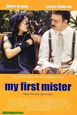 "MOVIE POSTER~My First Mister 2001 27x40"" Original Film Sheet Albert Brooks New~"