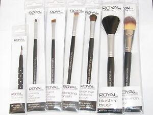 ROYAL Make-up Brushes - Choice of Eyeshadow/Foundation/Blusher/Lip
