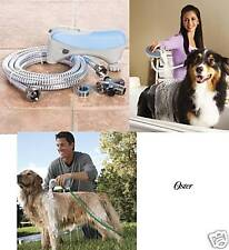 OSTER Hydrosurge Rapid Bath DOG CAT PET HOME BATHING System Indoor/Outdoor SET