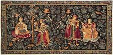 "GALANTERIE/GALLANTRY 18"" X 37"" FULLY LINED TAPESTRY WALL HANGING WITH ROD SLEEVE"
