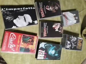 RENATO ZERO - LOTTO VIDEOCASSETTE VHS