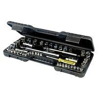 Socket Set 52Pce Metric & Imperial AF Sockets Ratchet Reducers  3/8 + 1/2 Drive