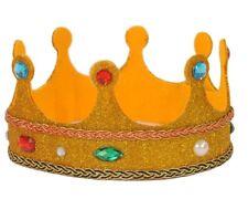 "Dress Up America KID Kings basso 3.5"" altezza glitterate & Faux Gioielli Roleplay CORONA"