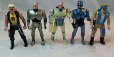 Robocop Action Figures-Orion/Kenner- 5 In Total- Ace Jackson, Chainsaw- Vintage