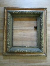 "Antique Victorian Picture Frame Wooden Gold Gilt Gesso art 24"" x 27 1/2"" restore"